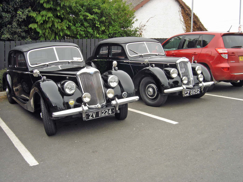 1947 Riley RMB and Riley RMA