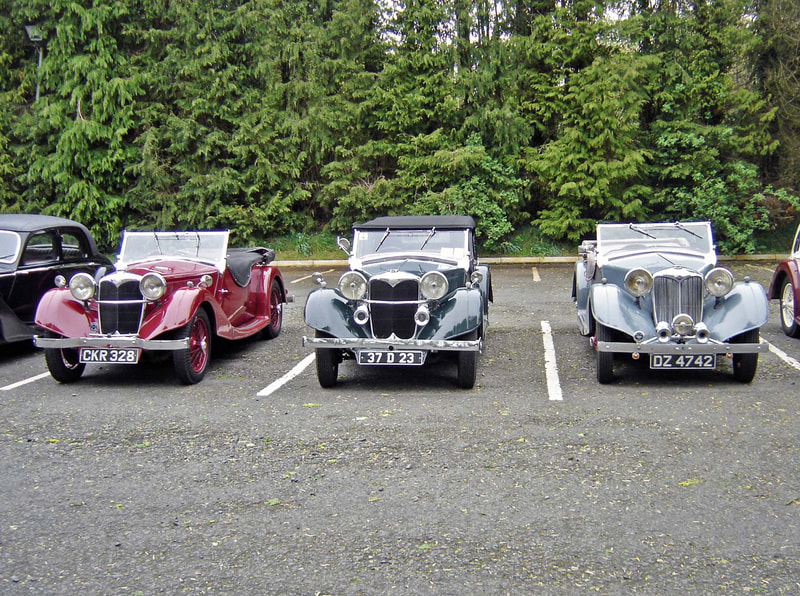 Three Riley Lynxes - English, Irish and Northern Ireland registrations